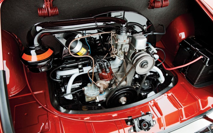 1958-Volkswagen-Karmann-Ghia-engine