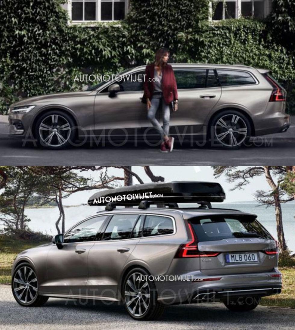 Teaser För Nya Volvo V60