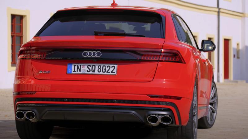 Audi AQ8 provkörning