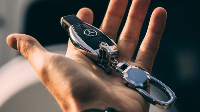 bilstöld nyckel