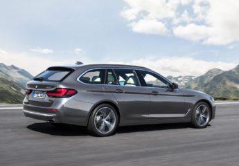BMW 5-serie facelift 2021