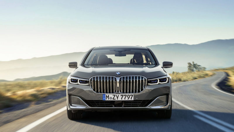 bmw 7-serie facelift 2019