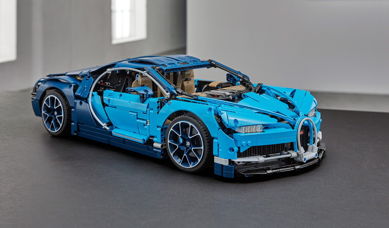 bugatti chiron som lego bil autonytt. Black Bedroom Furniture Sets. Home Design Ideas
