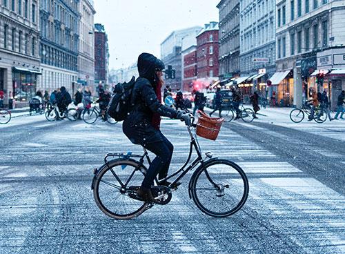 Cykel på vintern