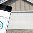 Styr garageporten med mobilen