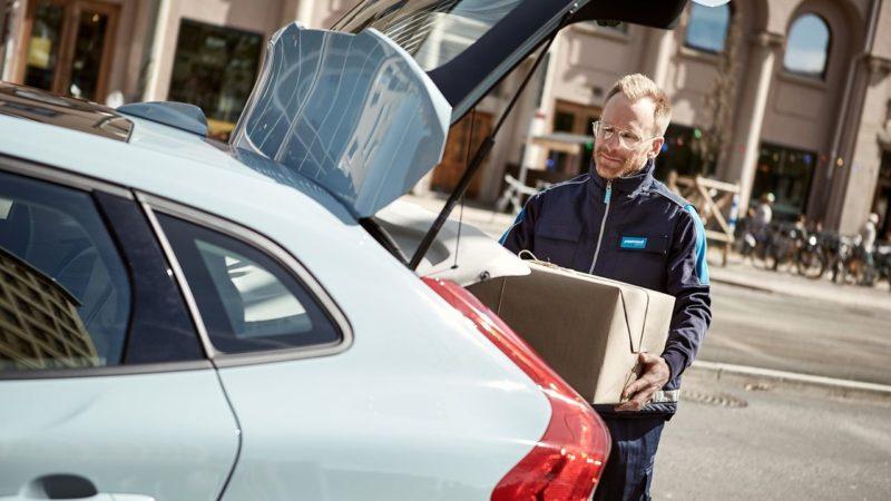 Volvo In-car Delivery - mat och paket till bilen