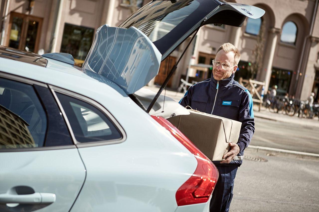 Mat Till Bilen Volvo In Car Delivery Och Paket Autonytt
