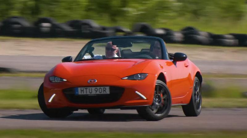 Mazda mx5 miata test
