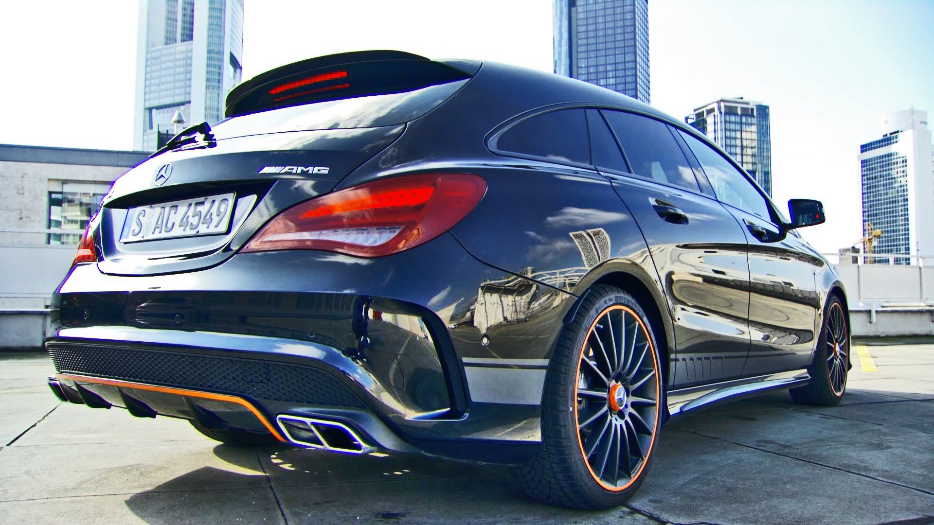mercedes cla 45 amg shooting brake autonytt. Black Bedroom Furniture Sets. Home Design Ideas
