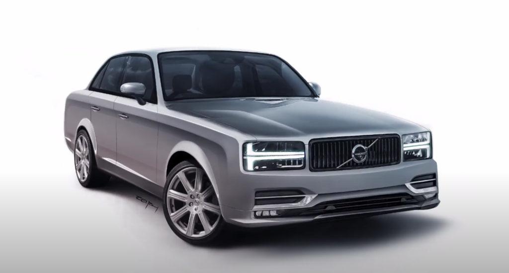 Ny Volvo 240 design front