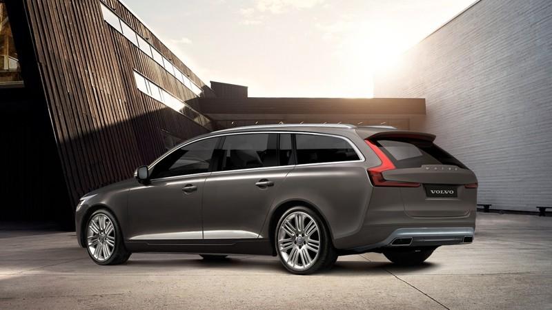 Nya Volvo V90 - New Volvo V90