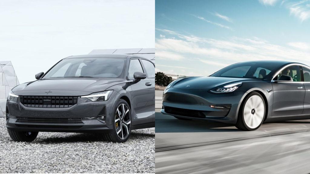 Polestar 2 eller Tesla Model 3