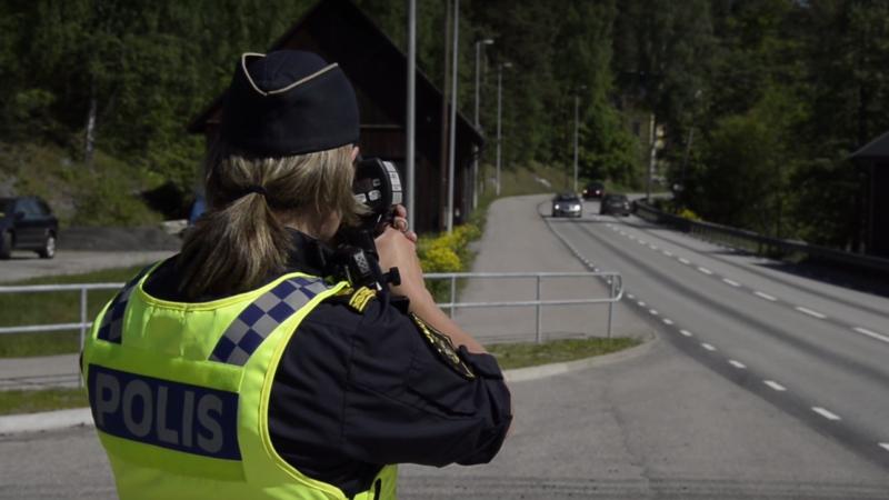 Polisen trafikkontroller