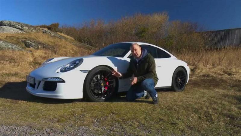 Porsche 911 Carrera 4 GTS provkörd