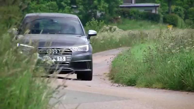 Provkörning av nya Audi S1