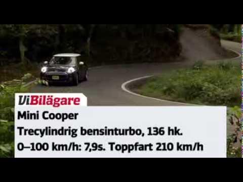 Provkörning av nya Mini Cooper