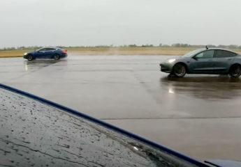 Tesla dragrace