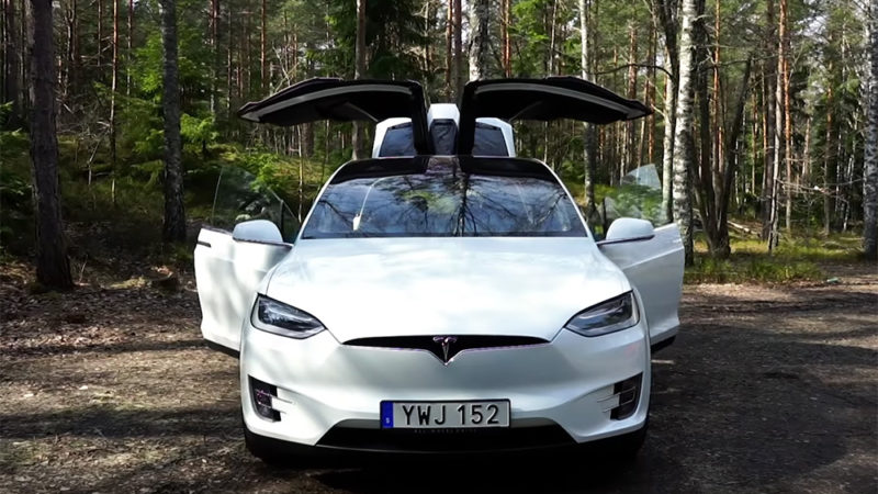 Tesla Model X test