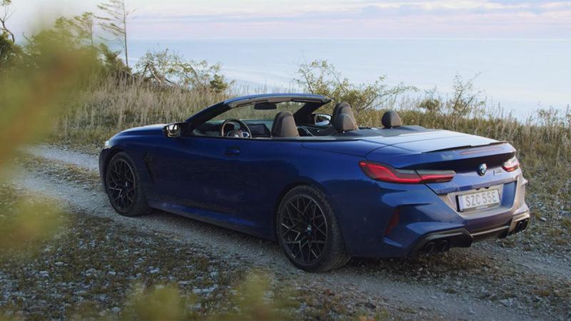 Test BMW M8