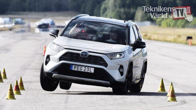 Toyota RAV4 2019 älgtest