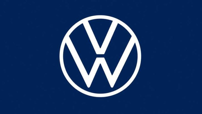 Volkswagen nya logotype