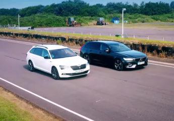Volvo V90 vs Skoda Superb