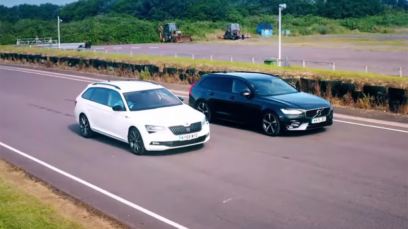 Volvo V90 vs Skoda Superb