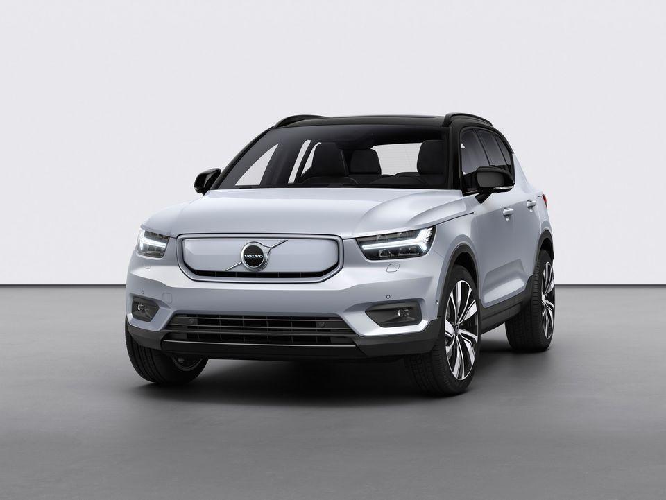 volvo xc40 recharge 2021 - autonytt